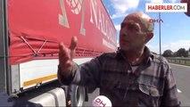 Edirne Suriyeli Kaçaklar, Tır Sürücülerinin Korkulu Rüyası Oldu