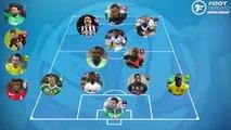 L'équipe type de la 8e journée de Ligue 1 ! [2014-2015]