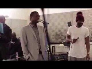 Fally Ipupa & Youssou N'dour - Répétion à Bercy (Paris)