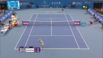 Pekín - Caroline Garcia, a segunda ronda