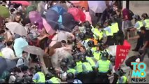 Hong Kong protest update - crowds grow on second day of Occupy Central.