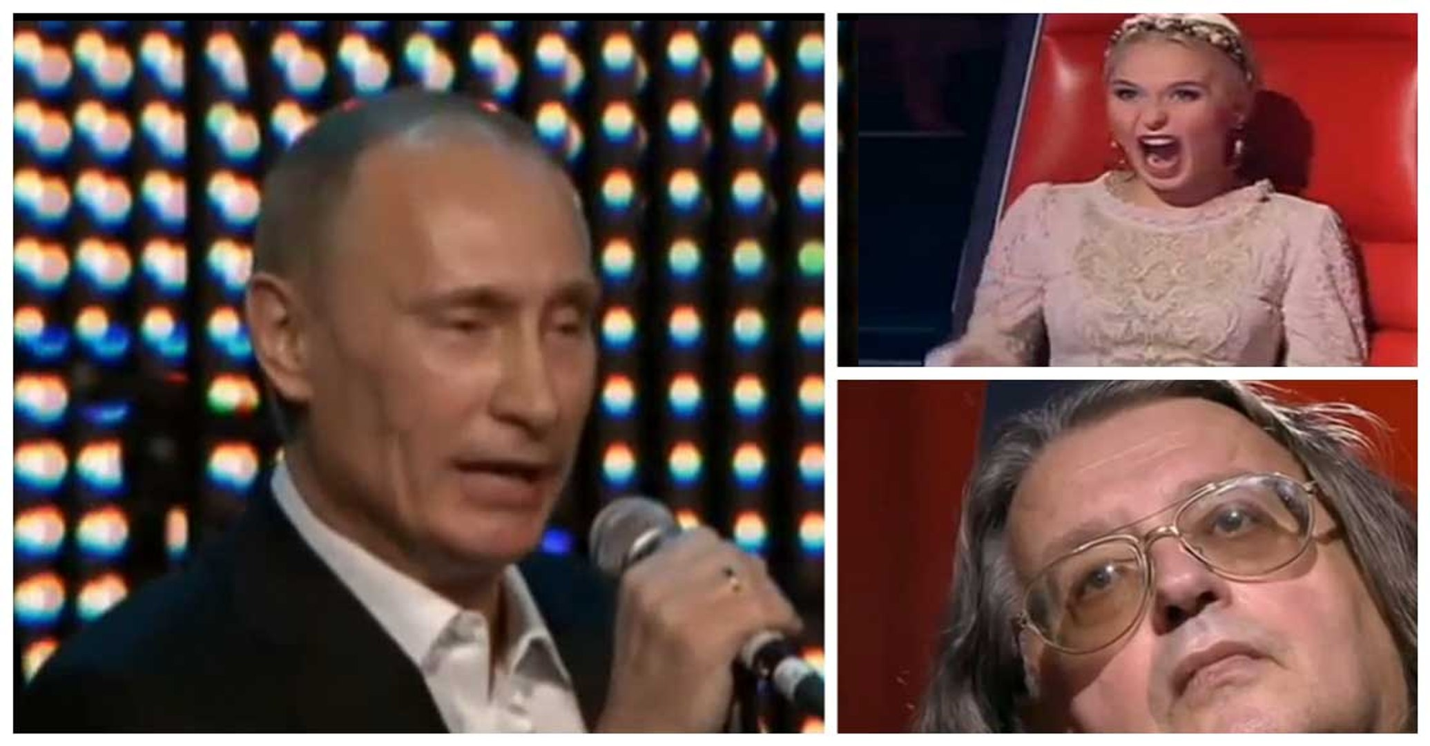 Vladimir Putin In The Voice Russia Sings Louis Armstrong S Blueberry Hill Video Dailymotion