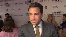 Gone Girl New York Film Festival Premiere - Ben Affleck Red Carpet Interview