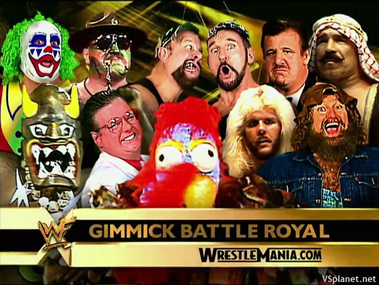 Gimmick Battle Royal: WrestleMania X-Seven - video Dailymotion