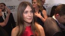 Gone Girl New York Film Festival Premiere - Lola Kirke Red Carpet Interview