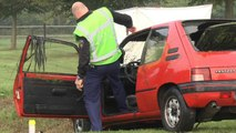 Eerste beelden dodelijk ongeval Bovenstreek Groningen - RTV Noord
