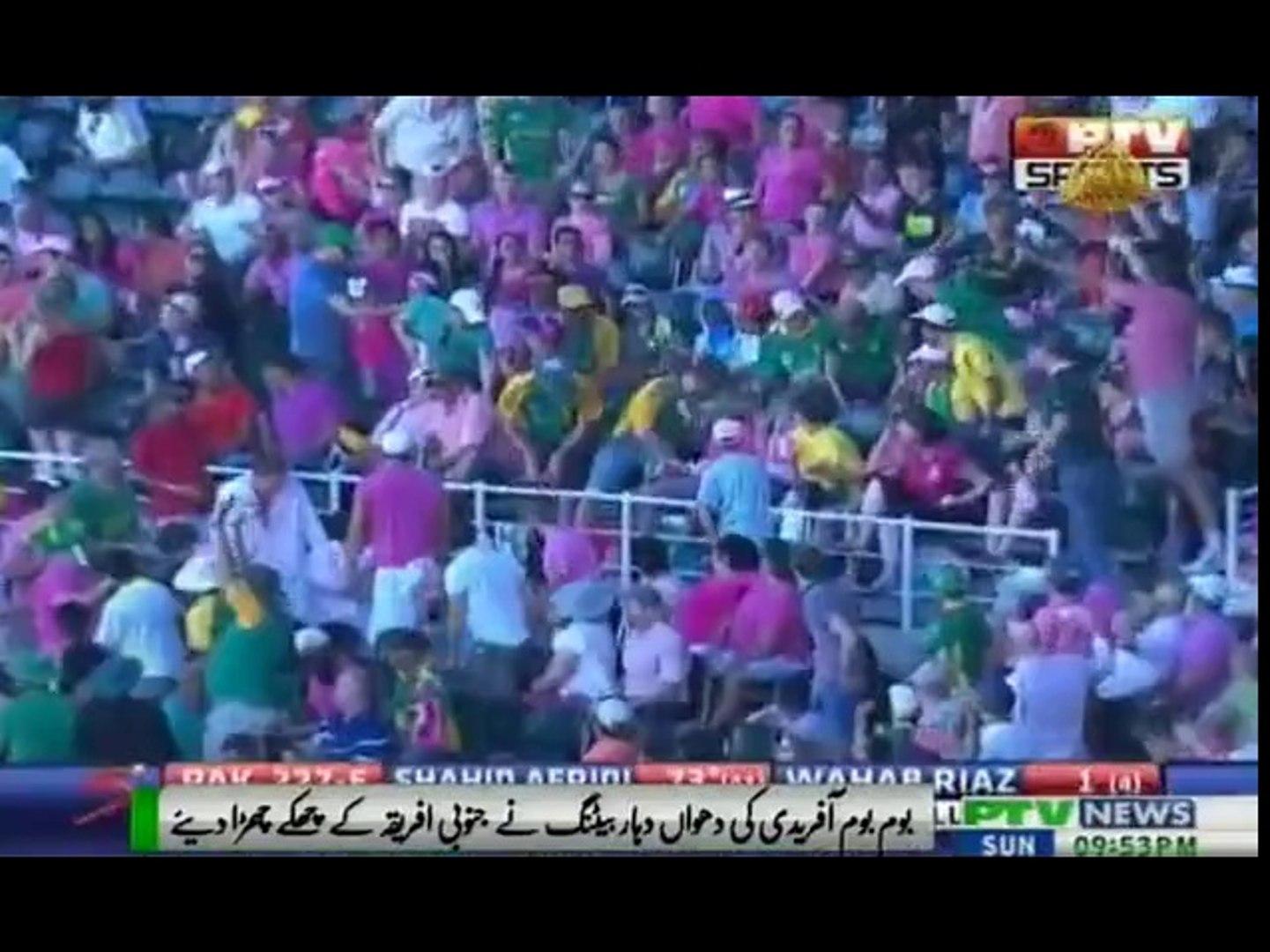 PTV News - Shahid Afridi vs South Africa
