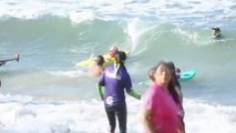 Surf's pup! Dogs make waves at annual dog-surfing contest