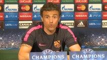 Enrique liczy na jak najlepszą grę Barcy