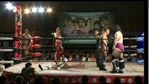 KAI, Kaz Hayashi & Hiroshi Yamato vs. Manabu Soya, Shuji Kondo & Seiki Yoshioka (Wrestle-1)