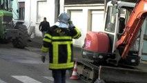 Fourmies : fuite de gaz rue des Verriers