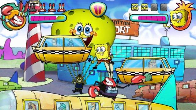 SpongeBob SquarePants VS Mr. Krabs In A SpongeBob SquarePants Bikini Bottom Brawlers Match / Battle / Fight