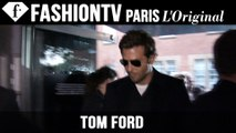 Tom Ford Spring/Summer 2015 Arrivals ft Bradley Cooper | London Fashion Week LFW | FashionTV