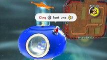 Super Mario Galaxy 2 - Monde 1 - Forage cosmique : La fouille aux étoiles d'argent