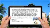 Berk Chiropractic Beverly Hills 5 Star Review from Cindy Crawford
