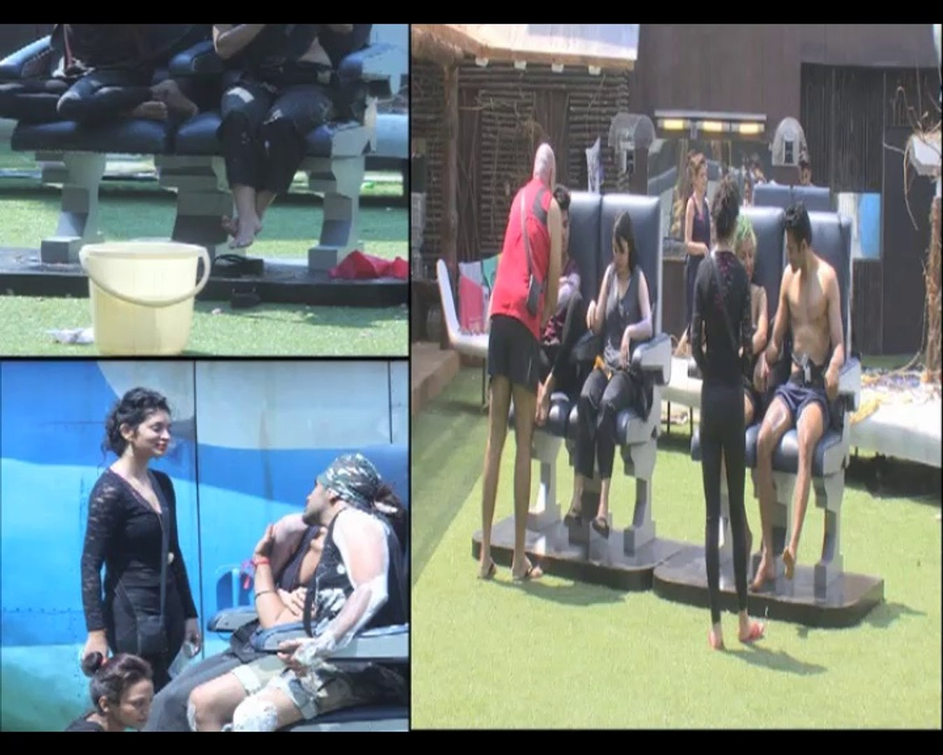 Bigg Boss Day 10 Deepshikhas team win Hijack task