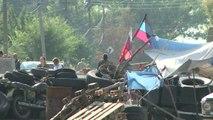 "Ukraine: le ""colonel"" cosaque Dremov, rebelle parmi les rebelles"