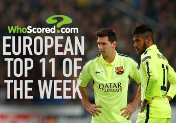 European Team of the Week - September 30