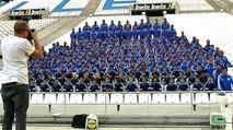 Tout l'OM au stade Vélodrome