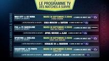 PSG-Barça, Man City-AS Roma, Sporting-Chelsea... Le programme TV des matches de Ligue des Champions du jour !