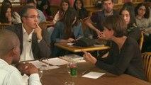 Najat Vallaud-Belkacem : thème du redoublement