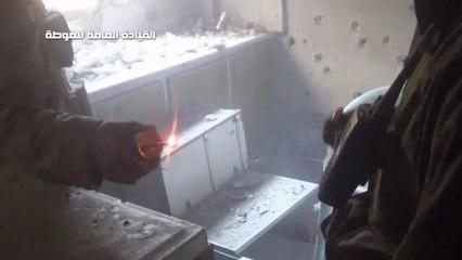 معارك المجاهدين مع قوات الأسد في #الدخانية