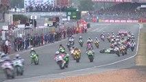 24 Heures Moto 2014 : le départ et le 1er tour