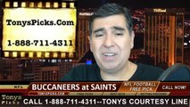 Tonys Picks Handicapping TV Show Free NFL Football Predictions Previews Odds September 29th 2014