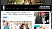 George Clooney And Amal Alamuddin's First Wedding Pictures Revealed
