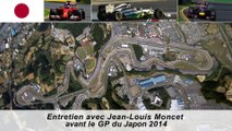 Entretien avec Jean-Louis Moncet avant le GP du Japon 2014