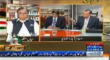 Nadeem Malik Live (Khursheed Shah Today Favored a Call For Midterm Elections) - 30th September 2014