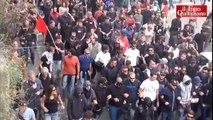 """Napoli, partito il corteo Block Bce: """"Liberiamo la città dai potentati"""" - Il Fatto Quotidiano"""