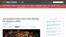 Eurocontrol Seeks More Info Sharing For Airspace Safety