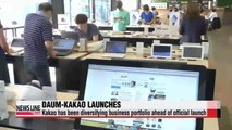 Daum-Kakao officially launches with massive valuation