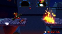 Crash Bandicoot 3 : Warped - Gemme Violette