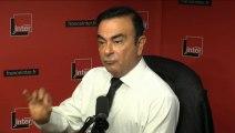 """Carlos Ghosn : """"Je crois beaucoup à la voiture électrique"""""""
