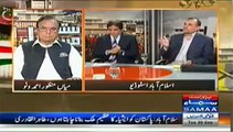 Hanif Abbasi(PMLN) Vs Azam Swati(PTI) In Live Show