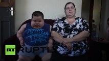 Un enfant de 3 ans pèse plus de 70 kilos