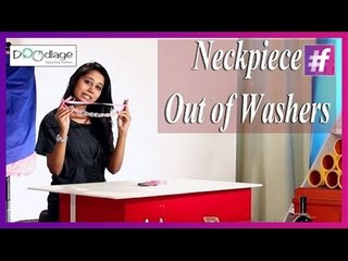 DIY : Make Your Own Statement Neckpiece Using Washers