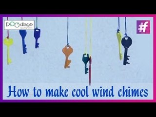 Easy DIY Tutorial   How To Make Cool Wind Chimes