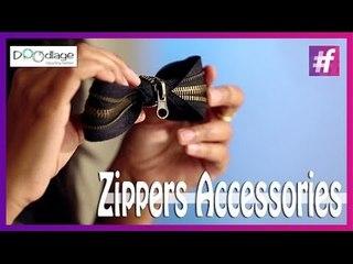DIY : Learn to Make Stylish Zipper Accessories