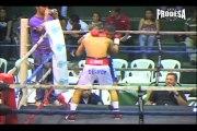 Pelea Byron Rojas vs Carlos Manzanarez 2 - Boxeo Prodesa
