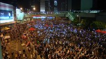 Hong Kong students vow stronger protests if leader stays