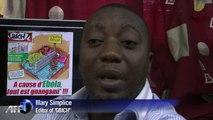 Cartoonists help raise Ebola awareness in Ivory Coast