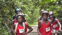 Raid sportif de st Laurent du Maroni en Guyane
