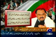Political leaders, writers & Intellectuals must bring government & political parties on table for holding meaningful dialogues: Altaf Hussain