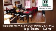 A vendre - appartement - LIZY SUR OURCQ (77440) - 3 pièces - 52m²