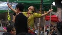 Demokratie-Proteste in Hongkong: China verbittet sich Einmischung in interne Angelegenheiten
