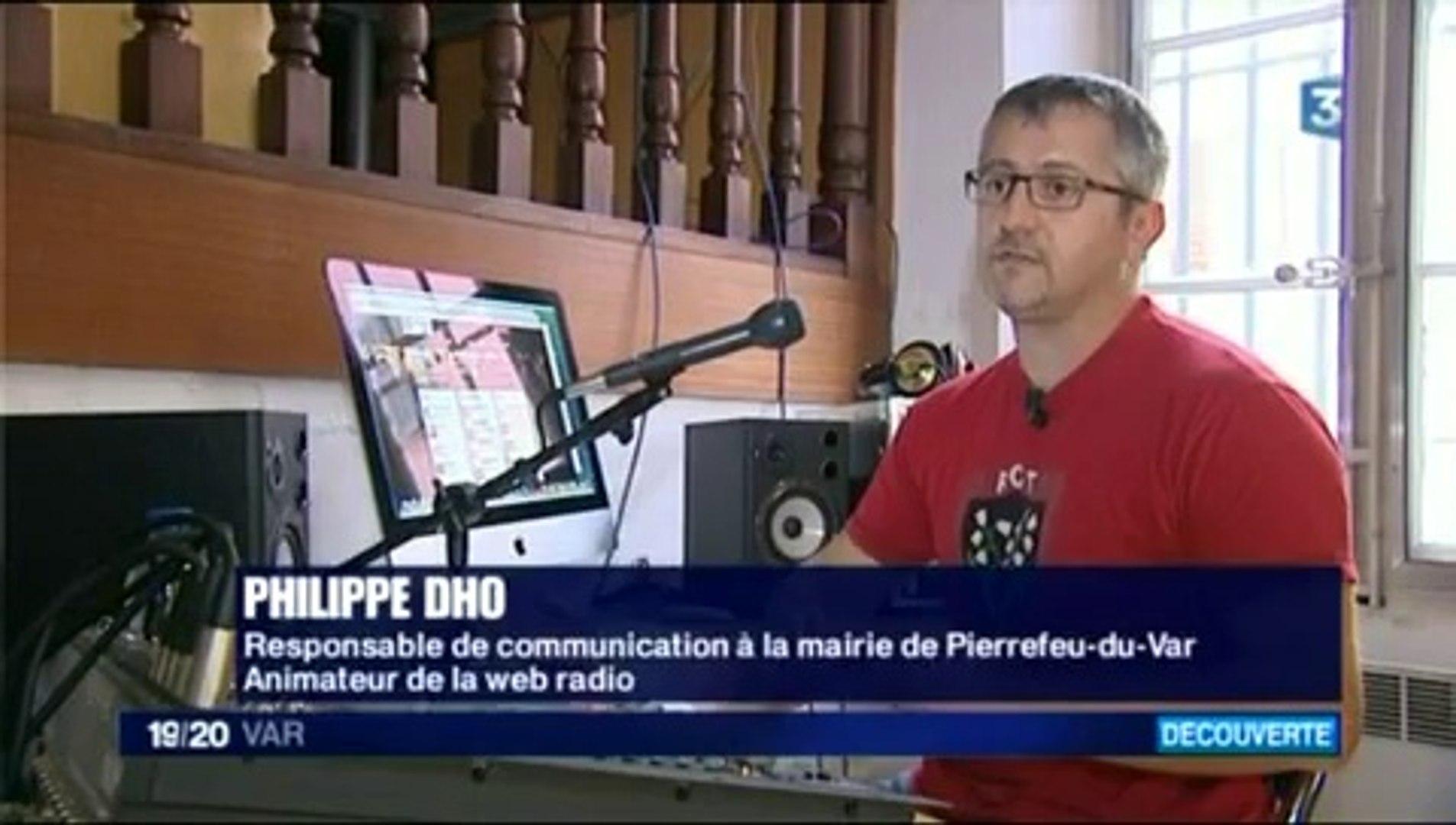 Reportage FR3 sur Radio-Pierrefeu