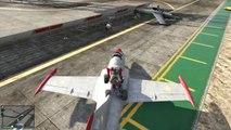 GTA 5 Funny Moments - FLYING QUAD BIKES on GTA - GTA Online JETS & Quad Bikes